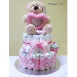 Torta od pelena sa plišanim medom - Za devojčicu