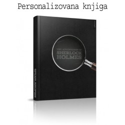 Šerlok Holms - personalizovana knjiga