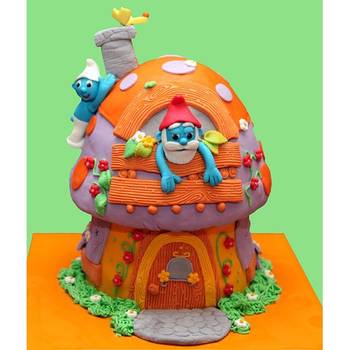 Torta - Štrumfovi