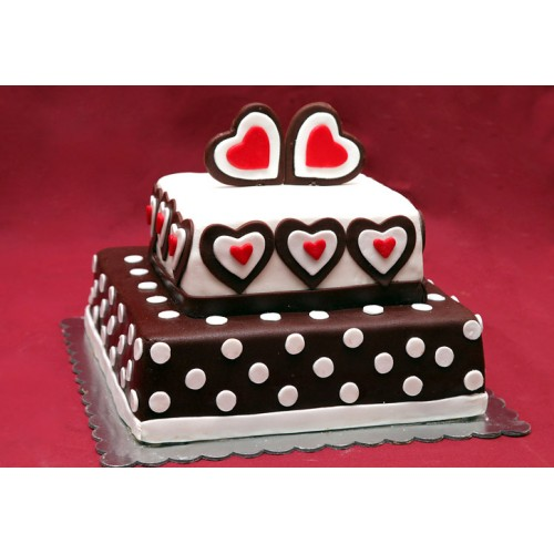 Torta - Sa srcima